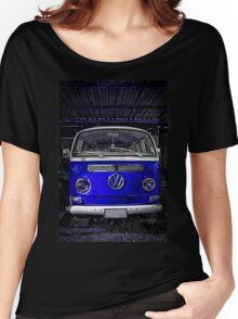 Volkswagen combi Blue  Women's Relaxed Fit T-Shirt