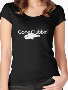 Gone clubbin' Women's Fitted Scoop T-Shirt