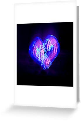 Neon Heart by Jennifer Hardman