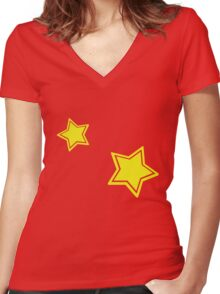 Diddy Kong Women's Fitted V-Neck T-Shirt