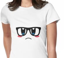 Hipster Kirby Womens Fitted T-Shirt