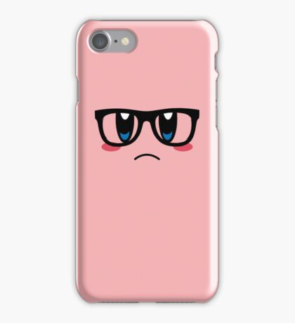 Hipster Kirby iPhone Case/Skin