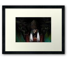 The Dovaakin Framed Print