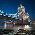 Tower Bridge and the memory of a working Thames by JzaPhotography