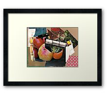 re(d)collection Framed Print