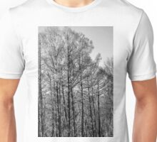 At The Meadow's Edge B&W Unisex T-Shirt