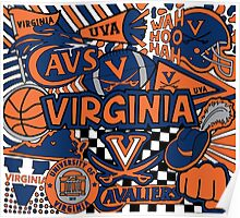University of Virginia Collage Poster