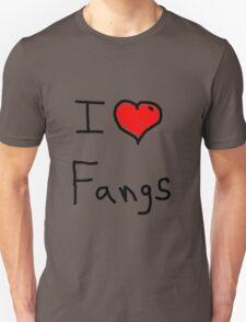 i love halloween fangs Unisex T-Shirt