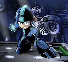 Megaman the Hero of 200x and 20xx by LuisIPT