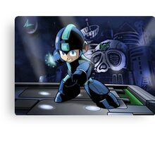 Megaman the Hero of 200x and 20xx Canvas Print