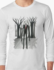 Slenderman Long Sleeve T-Shirt