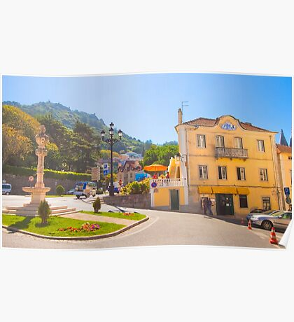 sintra town Poster