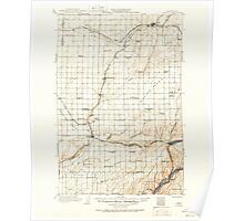 USGS Topo Map Washington State WA Connell 240638 1916 125000 Poster