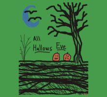 halloween jack o lantern all hallows eve Kids Clothes