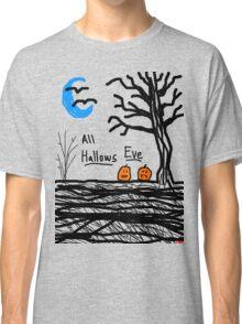 halloween jack o lantern all hallows eve Classic T-Shirt