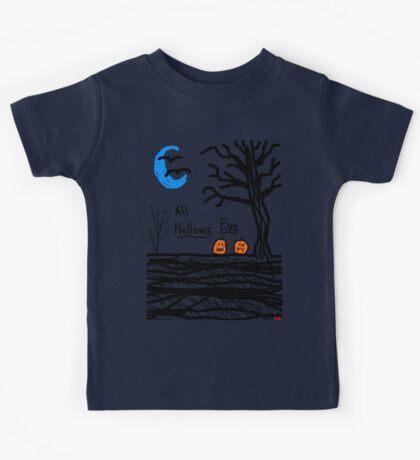 halloween jack o lantern all hallows eve Kids Tee
