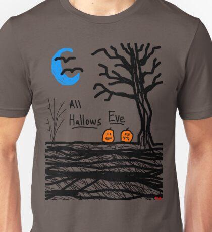 halloween jack o lantern all hallows eve Unisex T-Shirt