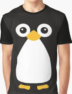 Cute Vector Penguin Graphic T-Shirt
