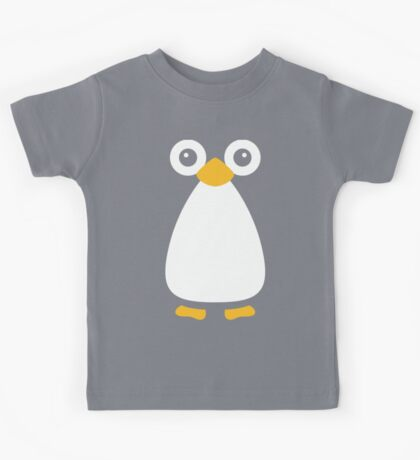 Cute Vector Penguin Kids Tee