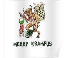 Merry Krampus Poster