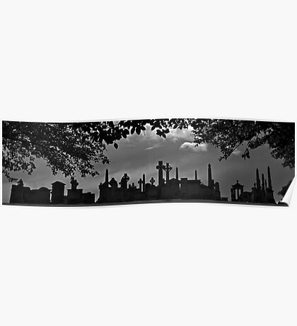 Tombstone City Panorama Poster