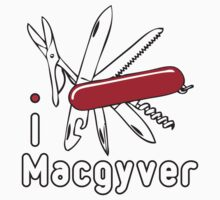 I LOVE MACGYVER T-shirt Kids Clothes