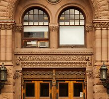 Toronto's Old City Hall - Side Entrance And Window © by © Hany G. Jadaa © Prince John Photography