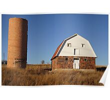Red Barn, Blue Sky II Poster