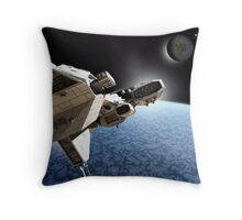 Passing the Ice Planet Throw Pillow