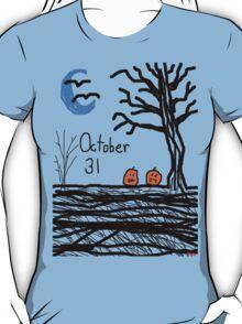 Halloween jack o lantern October 31  T-Shirt
