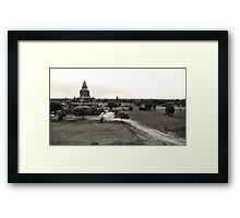 Breathtaking Bagan Framed Print