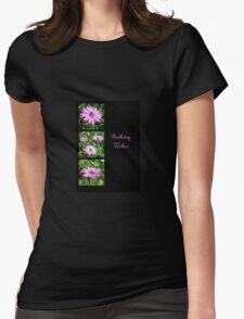 Birthday Wishes Greeting with Pink Daisies T-Shirt