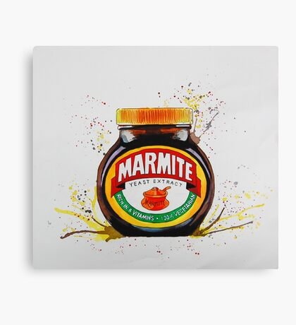 Marmite, Love it or Hate it! Canvas Print