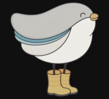bird in boots One Piece - Long Sleeve
