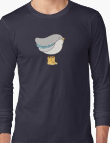 bird in boots Long Sleeve T-Shirt