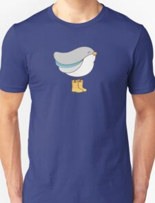 bird in boots Unisex T-Shirt
