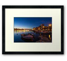 Zadar - Jazine Framed Print