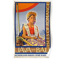Vintage poster - Java and Bali Poster