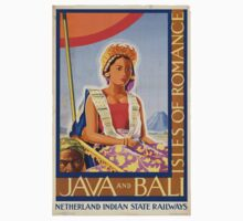 Vintage poster - Java and Bali Kids Clothes