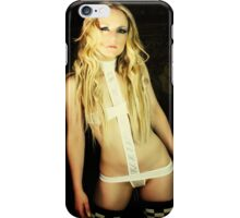 Portrait of an Actress by Aquinas iPhone Case/Skin