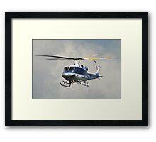 U.S. Park Police Eagle One Framed Print