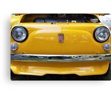 Fiat bumper Canvas Print