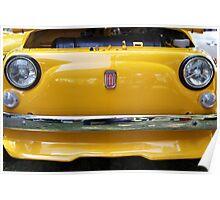 Fiat bumper Poster