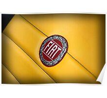 Fiat logo  Poster