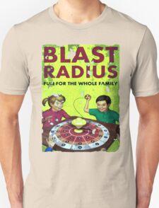 BLAST RADIUS POSTER FALLOUT 4 T-Shirt