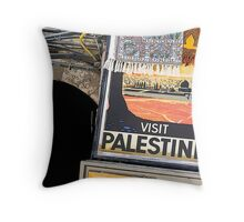 Palestine poster Throw Pillow