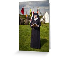 Nun Greeting Card