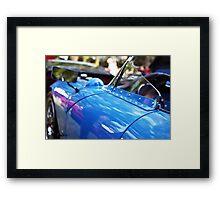 Blue luxury Framed Print