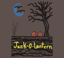 halloween jack o lantern by Tia Knight