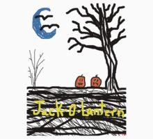 halloween jack o lantern Kids Clothes
